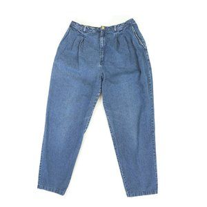 Vintage 90s Levis High Waisted Mom Jeans Pleated